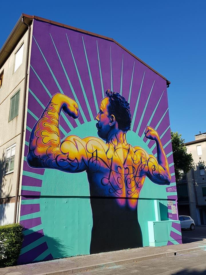 06.2017 #fullcolor - Mambo I BLOCK THE WALL (6°ed) – Bologna