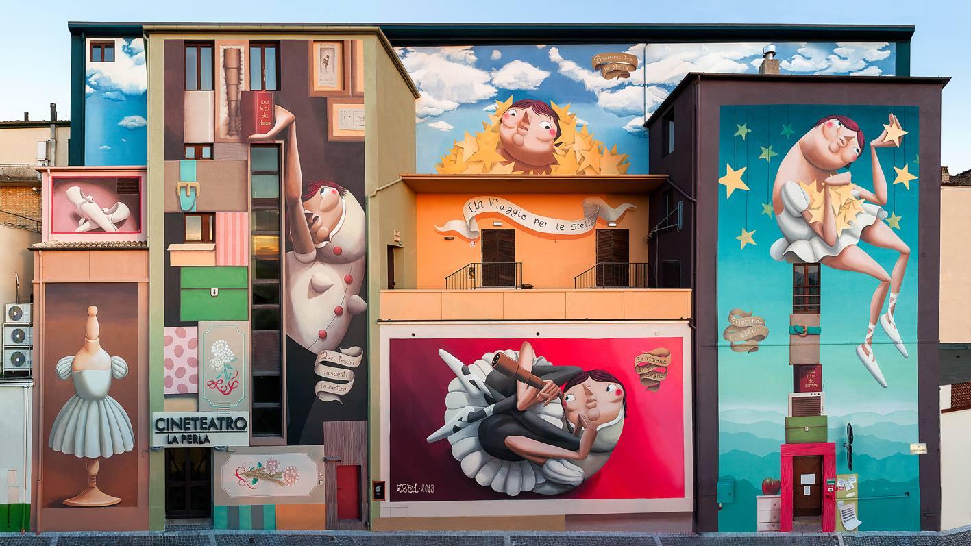 06.2018 #fullcolor - Zed1 I VEREGRA FESTIVAL (20°ed) – Montegranaro I FR