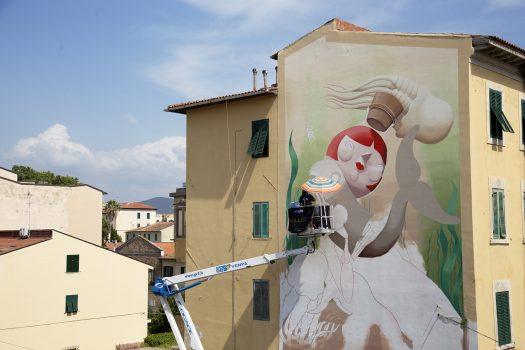 07.2019 #fullcolor - Zed1 I MURALI I Livorno 1