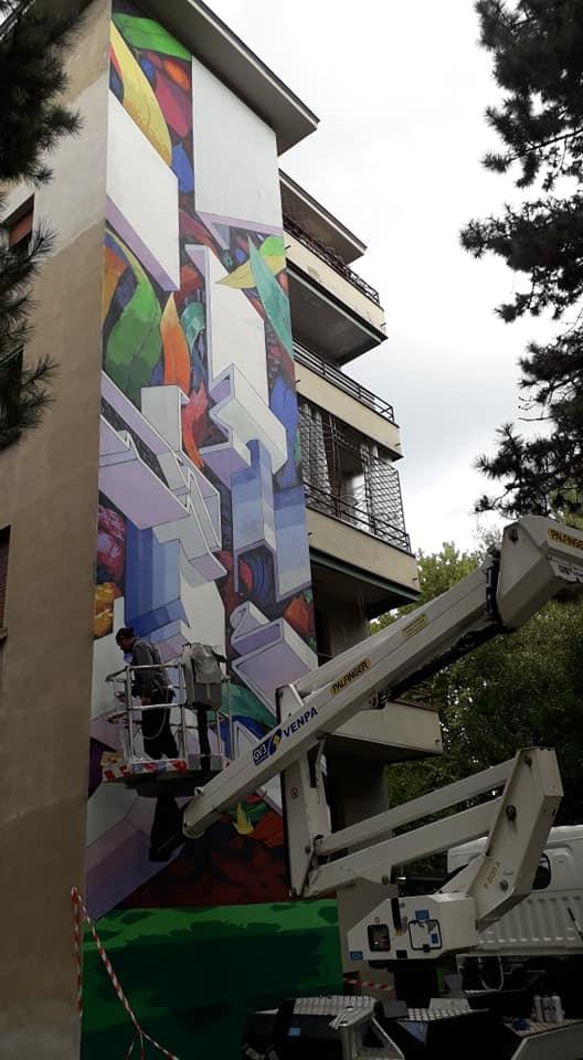 09.2019 #fullcolor - Etnik I BLOCK THE WALL (9°ed) – Bologna 1