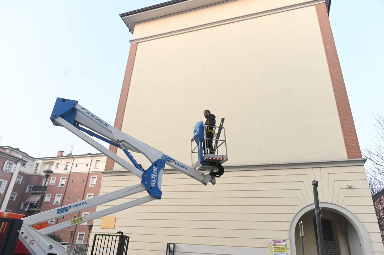 01.2020 #fullcolor - Jacopo Ceccarelli 2501 I MANDALA - Bologna