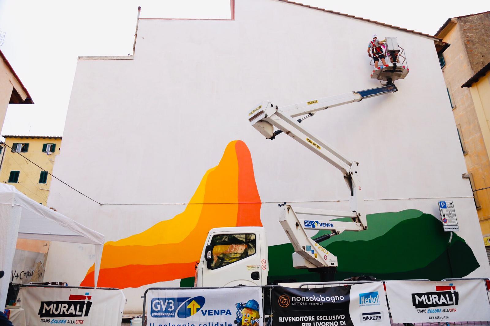 08.2020 #fullcolor - Moneyless I MURALI I Livorno 1
