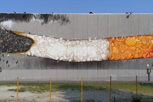 06.2021 #fullcolor - BIENNALE DI STREET ART (2°ed.) Super Walls – Mrfijodor I PADOVA e provincia