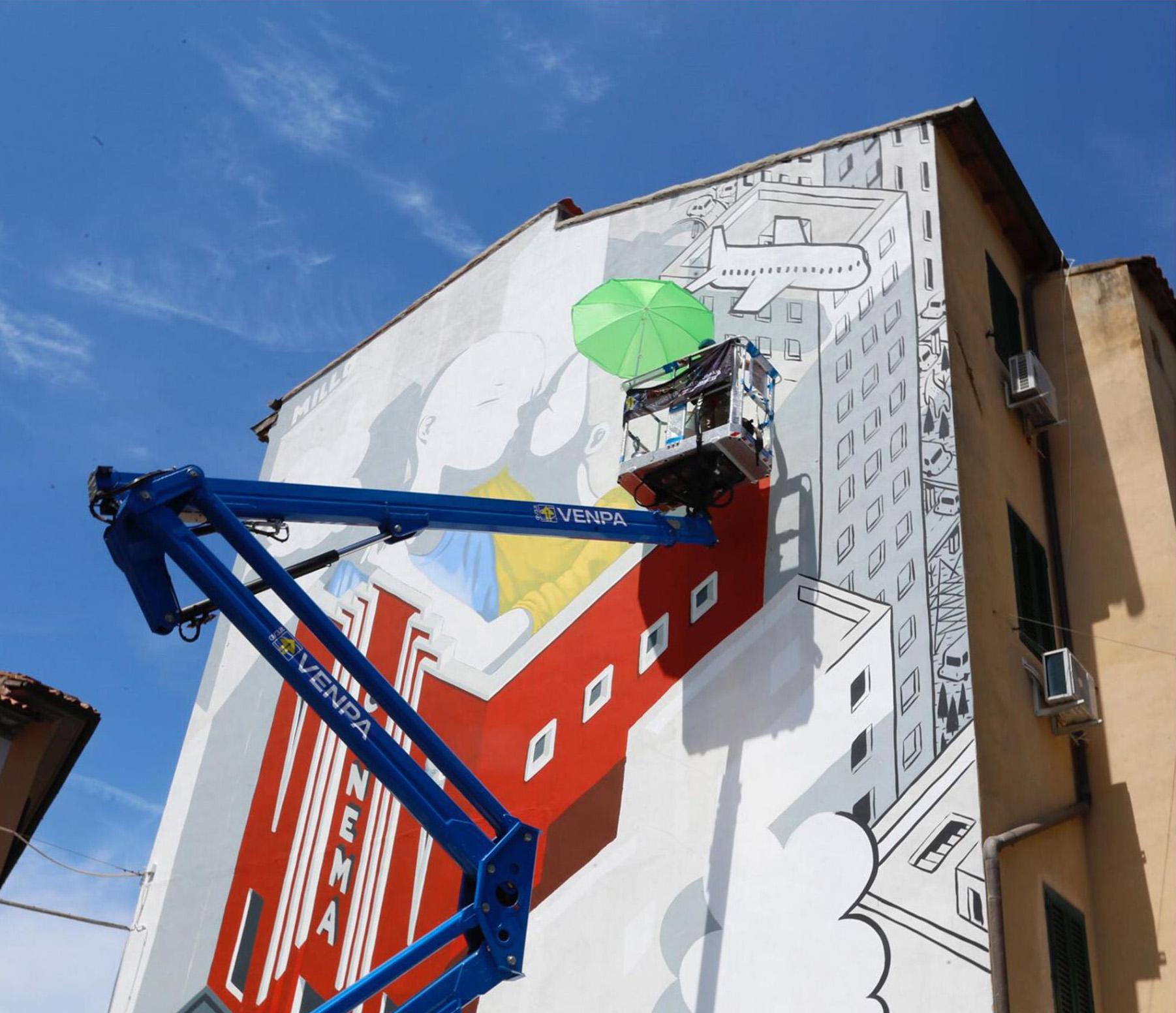 07.2021 #fullcolor - Millo I MURALI - Livorno